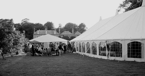 marquee weddings cornwall